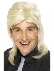 Peruk hockeyfrilla blond man