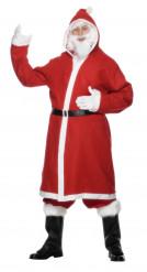 Jultomtedräkt med skägg för vuxna - Maskeraddräkter till jul