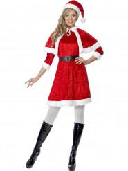 Sexig tomtemor med cape - Juldräkt för vuxna