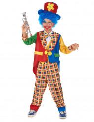 Häftig clown - utklädnad barn
