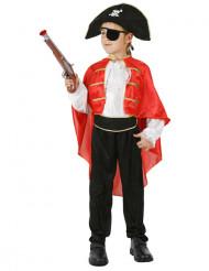 Maskeraddräkt piratkapten barn