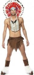 Maskeraddräkt indien Village People ™ man