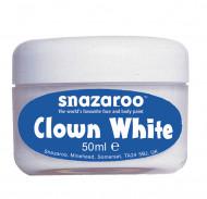 Clownsmink vitt Snazaroo™ 50 ml