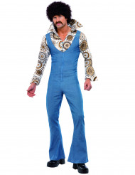 70-talets Disco Maskeraddräkt Man