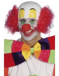 Röd clownperuk