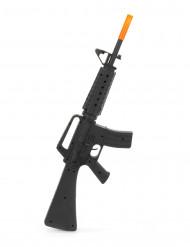 Soldatgevär M16 i plast