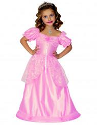 Rosa prinsessklänning för barn