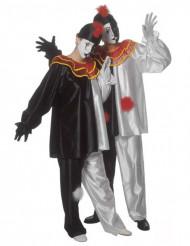 Pierrot - utklädnad vuxen
