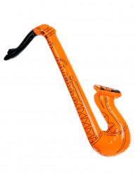 Saxofon orange uppblåsbar