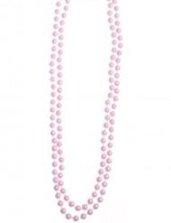 Halsband rosa pärlor