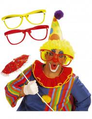Enorma clownglasögon för vuxna