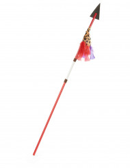 Indianspjut i plast 110 cm