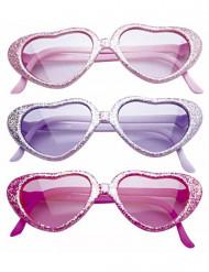 Glasögon glamour med paljetter barn
