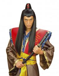 Samurai peruk för vuxna