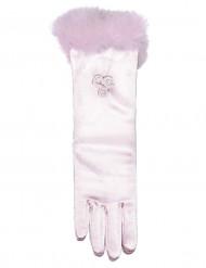 Prinsesshandskar medellånga rosa barn