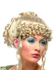 Peruk blond grekisk gudinnna vuxen