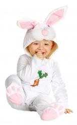 Kanin med morot - Bebisdräkt till påsk
