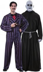 Gomez & Uncle Fester från Familjen Addams™ - Pardräkt
