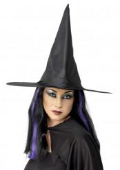 Häxhatt svart vuxna Halloween