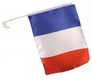 Fransk flagga att fästa på bilen
