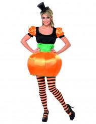 Pumpadräkt för vuxna till Halloween