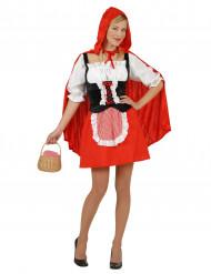 Rödhuvad tjej - Maskeraddräkt för vuxna