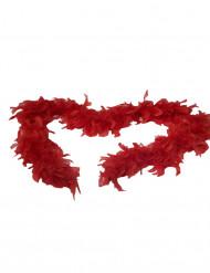 Röd boa - Tillbehör till temafesten