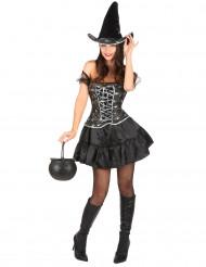 Sexig häxa - Utklädnad för vuxen till Halloween