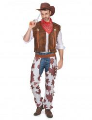 Huston - Cowboydräkt till maskeraden för vuxna