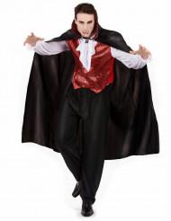 Vampyr - Dräkt till Halloween för herrar