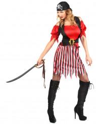 Piratdräkt dam