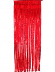 Glittrande röd ridå