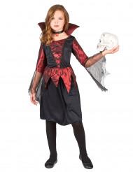 Elegant vampyr - Utklädnad för barn till Halloween
