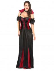 Elegant vampyr - utklädnad till Halloween för vuxna