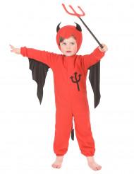 Djävul - Overall för barn till Halloween