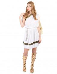 Romersk gudinnedräkt med gyllene detaljer - Maskeradkläder för vuxna