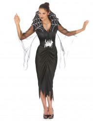 Spindelkvinna - Dräkt för vuxna till Halloween