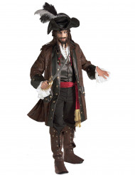Maskeraddräkt karibisk pirat manlig