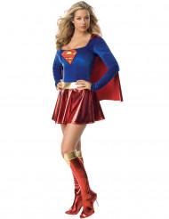 Supergirl™ -dräkt de luxe för vuxna