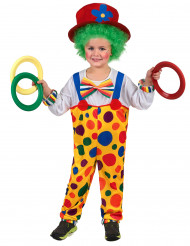 Clown - utklädnad barn