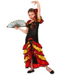 Flamencodansös - Maskeradkläder för barn