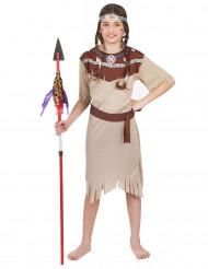 Blekfärgad indiandräkt för barn