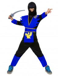 Blå draken - Ninjadräkt för barn