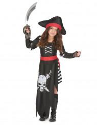 Tuff pirat med döskalletryck - Utklädnad för barn