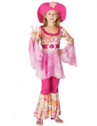 Rosa hippie - utklädnad barn