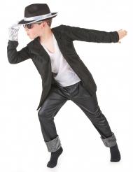 Popstjärnedräkt för barn till maskeraden