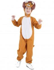 Hör mig ryta - Lejondräkt för barn till kalaset