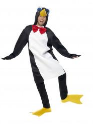 Pingvin med tjusig rosett - Maskeradkläder för vuxna