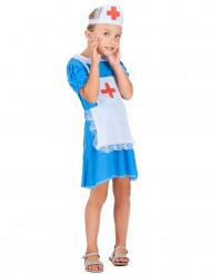 Blå sjuksköterska - utklädnad barn