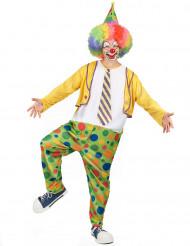 Pricken - Clownkostym för vuxna till festen